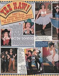 Country Fashion Pictorial with AMC co-stars, Lindsay Price & Sarah Michelle Gellar