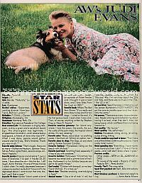 Star Stats with Judi Evans of Another World