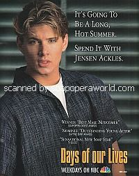 Spend The Summer With Jensen Ackles of Days Of Our Lives