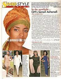 Senait Ashenafi played the role of Keesha on General Hospital