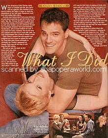 Michael Park & Maura West (Jack & Carly, ATWT)