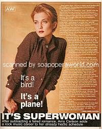 Amy Carlson of Another World