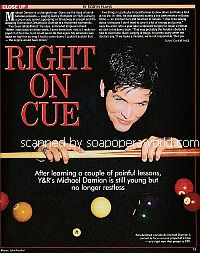 Interview with Michael Damian (Danny on The Young and The Restless)