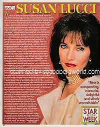 Star Of The Week: Susan Lucci (Erica Kane on All My Children)