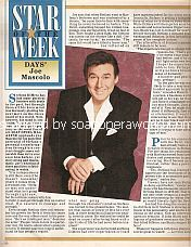 Star Of The Week - Joseph Mascolo (Stefano DiMera on Days Of Our Lives)