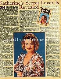 Cover Story with Mary Beth Evans of General Hospital