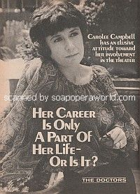 Interview with Carolee Campbell of The Doctors