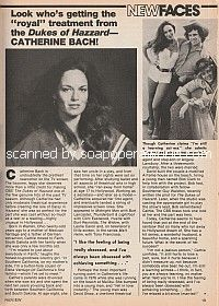 Interview with Catherine Bach of The Dukes Of Hazzard
