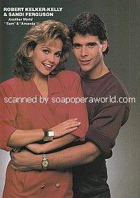 Robert Kelker-Kelly & Sandra Ferguson of Another World