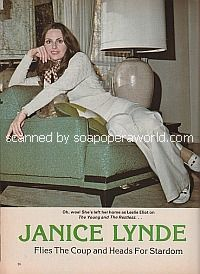 Interview with Janice Lynde </b>(ex-Leslie, Y&R)