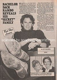 Interview with Dack Rambo of All My Children