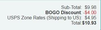 BOGO Discount