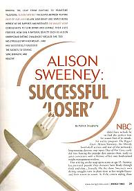 Interview with Alison Sweeney of The Biggest Loser