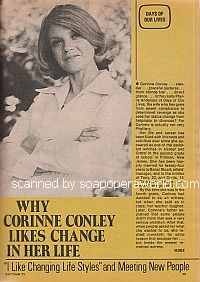 Interview with Corinne Conley (Phyllis Anderson on Days Of Our Lives)