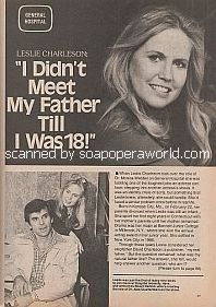 Interview with Leslie Charleson (Dr. Monica Webber on General Hospital)