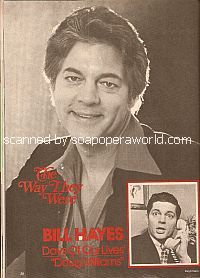 The Way They Were with Bill Hayes (Doug Williams on Days Of Our Lives)