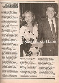 Interview with John Martinuzzi on girlfriend Genie Francis