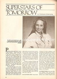 Superstars Of Tomorrow featuring Anne Heche)