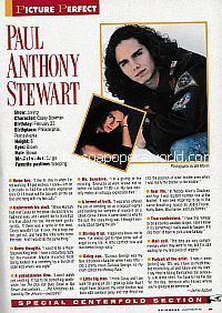 Centerfold Interview with Paul Anthony Stewart (Casey Bowman on the soap opera, Loving)