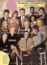 Rear Cover featuring the cast of General Hospital