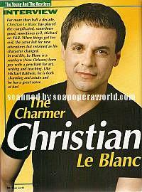 Christian LeBlanc (Michael Baldwin, Y&R)