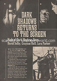 Dark Shadows Returns To The Screen