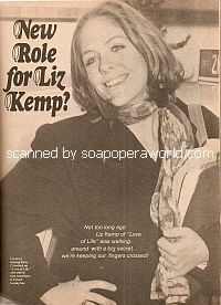 Interview with Liz Kemp (Betsy Crawford on Love of Life)