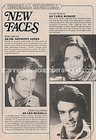 General Hospital New Faces