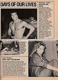 Days Of Our Lives featuring Michael Leon and Lisa Trusel