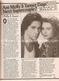 Are Molly & Tanner DAYS' Next Supercouple? featuring Shannon Sturges & Michael Easton