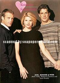 Mark Valley, Stephanie Cameron & Jason Brooks (Jack, Jennifer & Peter, DAYS)