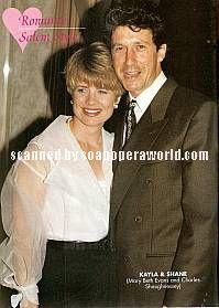 Mary Beth Evans & Charles Shaughnessy (Kayla & Shane, DAYS)