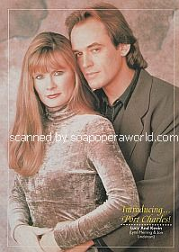 Lynn Herring and Jon Lindstrom (Lucy and Kevin on Port Charles)