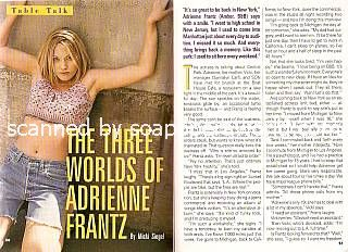 Interview with Adrienne Frantz (Amber on The Bold & The Beautiful)