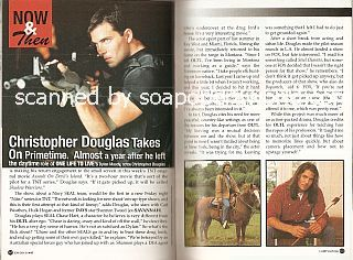 Interview with Christopher Douglas (ex-Dylan Moody on the ABC soap opera, One Life To Live)