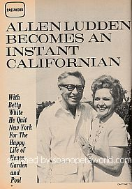 Interview with Allen Ludden (Game Show Host of the show, Password)