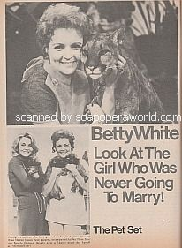Interview with Betty White of The Pet Set