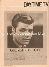 Daytime Bachelors featuring George Reinholt (Steven Frame on Another World)