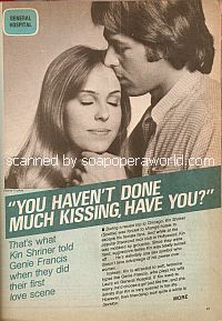 Interview with Kin Shriner (Scottie Baldwin on the soap opera, General Hospital)