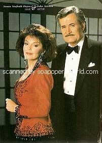 Julie & Victor, played by Susan Seaforth Hayes & John Aniston
