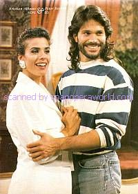 Bo & Hope, played by Kristian Alfonso & Peter Reckell