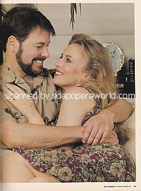 Genie Francis and Jonathan Frakes