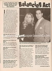Interview with Don Diamont (Brad on soap opera, The Young & The Restless)