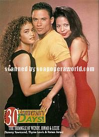 Tammy Townsend, Thyme Lewis & Renee Jones (Wendy, Jonah & Lexie, DAYS)