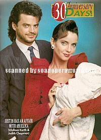 Wally Kurth & Judith Chapman (Justin & Anjelica, DAYS)