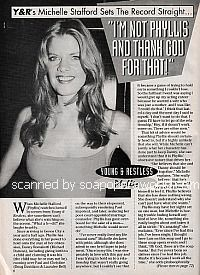 Interview with Michelle Stafford (Phyllis on The Young and The Restless)