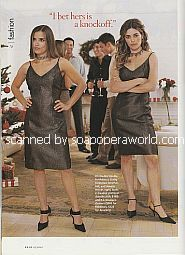 All My Children Christmas party with Rebecca Budig & Amelia Heinle (Greenlee and Mia on AMC)