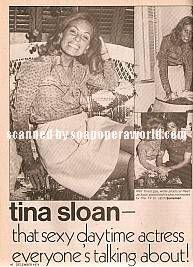 Tina Sloan (Kate Thornton, Somerset)