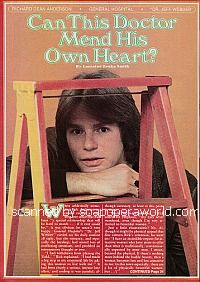 Interview with Richard Dean Anderson of General Hospital