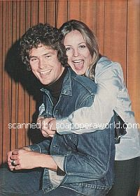 Trish Stewart and David Hasselhoff of The Young and The Restless
